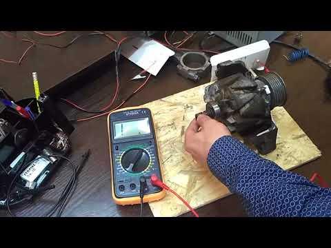 Как проверить обмотку генератора