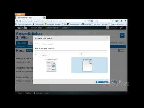 how to set up a wikia