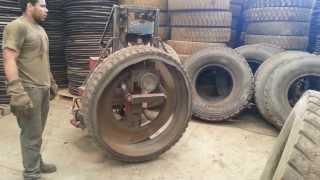 Cortador de banda lateral de pneu