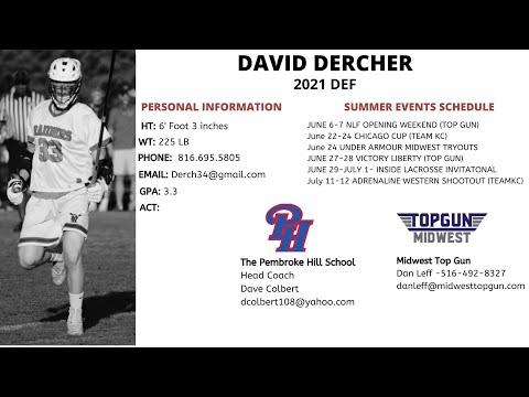 David Dercher | 2021 Def | The Pembroke Hill School (MO)