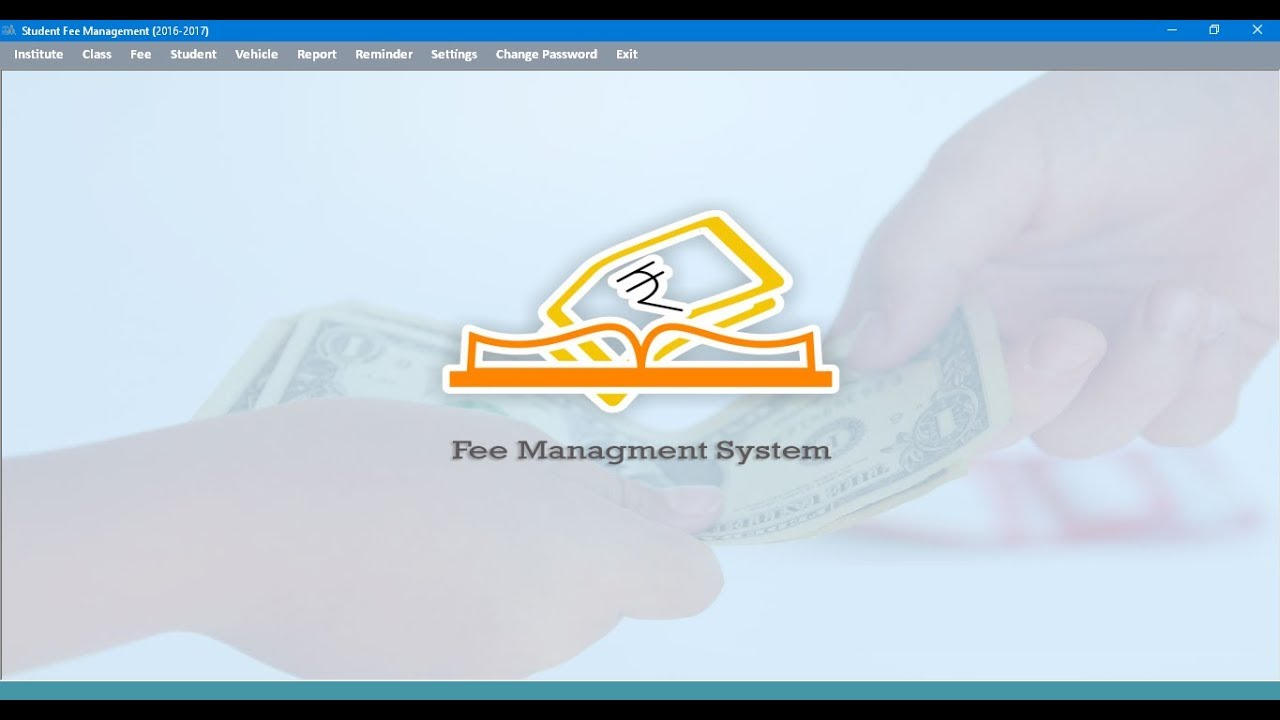 School Fee Management System Part 1 Youtube