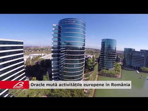Oracle mută activitățile europene în România