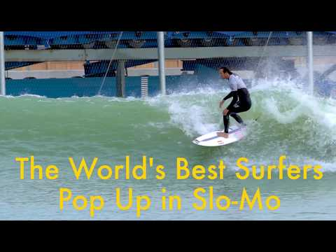 download How the World's Best Surfers Pop Up (Slow Motion)