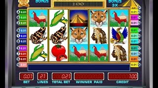 видео игровой автомат пирамиды aztec