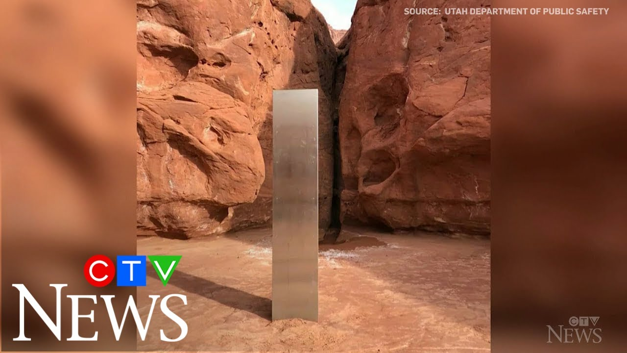 Another mysterious monolith appears  in Romania