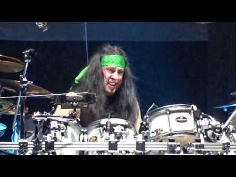 Dream Theater - Mike Mangini Drum Solo Live @ Mediolanum Forum Assago (MI)