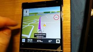 Blackberry passport best satnav navigation app Free HD Video