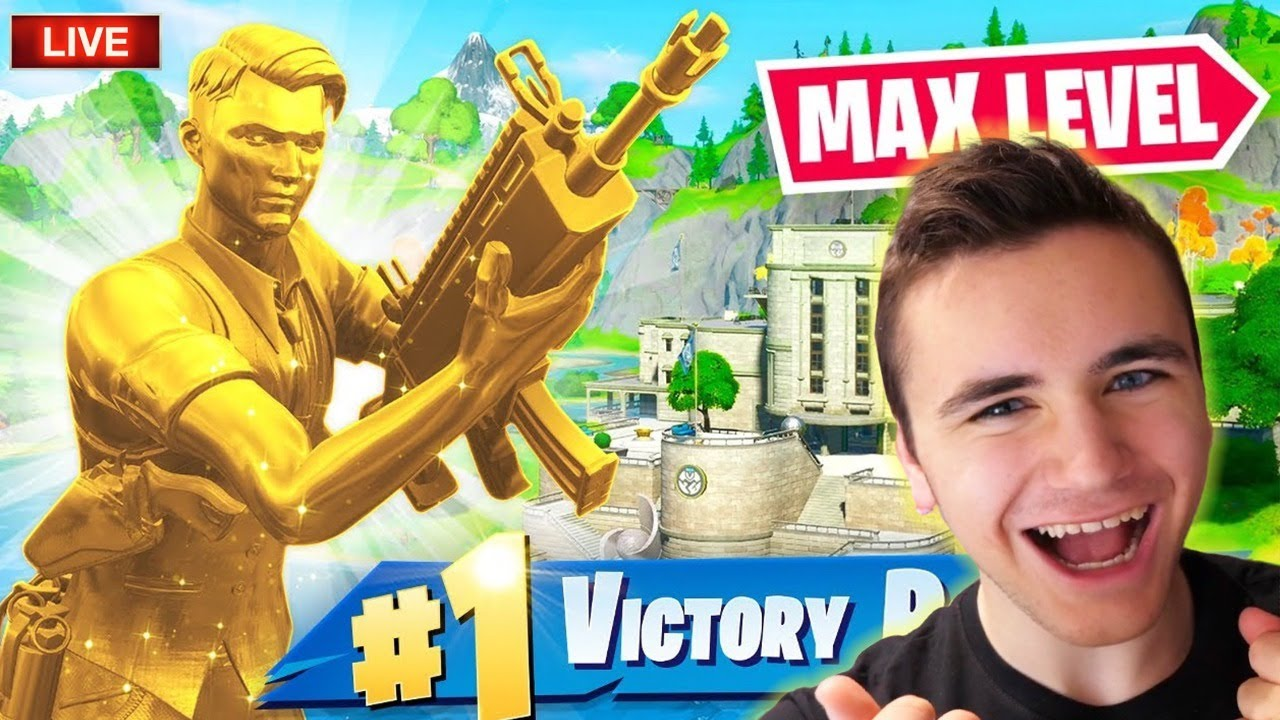 ON PASSE LE LEVEL MAX EN LIVE !!! (Fortnite Battle Royale)
