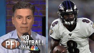 Will Lamar Jackson show improvement with arm? | Pro Football Talk | NBC Sports