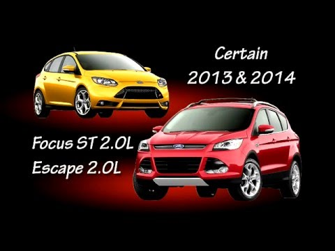 Safety Recall 14s17 2013 2014 Ford Focus St And Escape Youtube