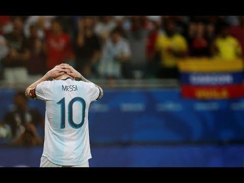 Copa America Première déconvenue pour Messi et l'Argentine