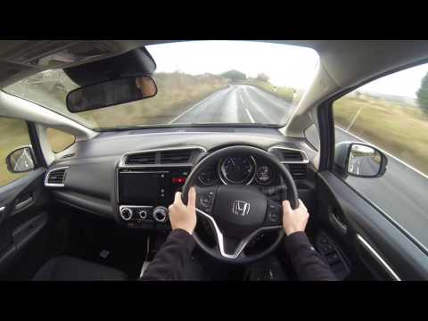 Honda Jazz 2017 Model POV Test Drive UK Country Roads
