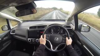 Honda Jazz 2017 Model POV Test Drive UK Country Roads