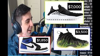 Shroud bought shoes on 14000$