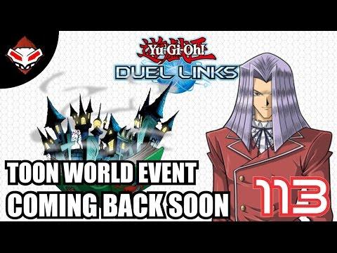 Yu-Gi-Oh! Duel Links - (113) Event Toon World Ada Lagi