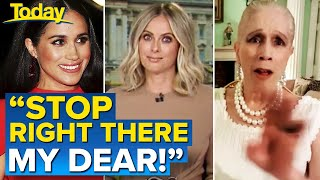 """Lady Colin Campbell blows up after lashing """"selfish"""" Meghan and Harry 