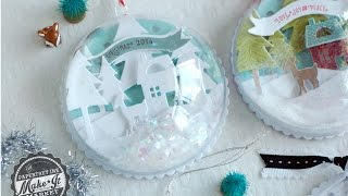 Papertrey Ink Make It Market: Tinsel & Tags Kit -- Ornament How-to