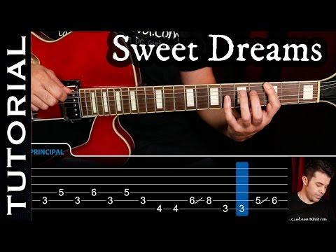 Cómo tocar Sweet Dreams de Marilyn Manson en guitarra  guitarraviva