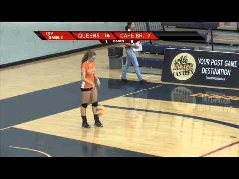 QTV Live Sports Archive: Queen's Gaels vs. Cape Breton