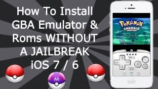 Install GBA Emulator & Games WITHOUT A JAILBREAK iOS 9 / 8 / 7 / 6 iPhone, iPad & iPod Touch