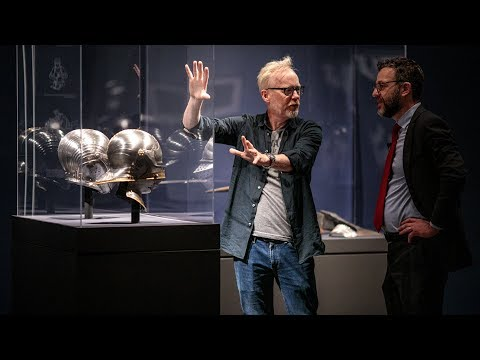 Adam Savage Tours the MET's Last Knight Exhibit!