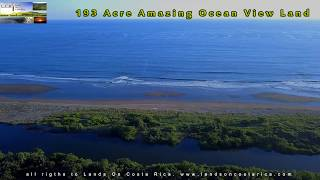 193 acre Ocea View land central Pacific Costa rica For Sale!