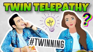 TWIN TELEPATHY CHALLENGE | RAKSHABANDHAN SPECIAL | RAJ ANADKAT |