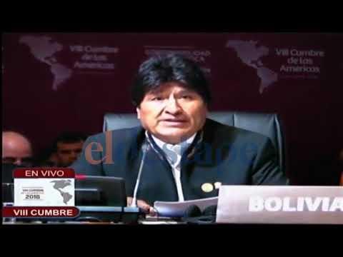 Evo Morales le dio una clase de economía a Macri