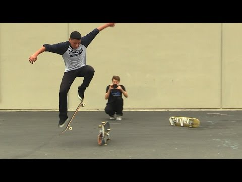 SKATEBOARD LESSONS | SWITCH OLLIE