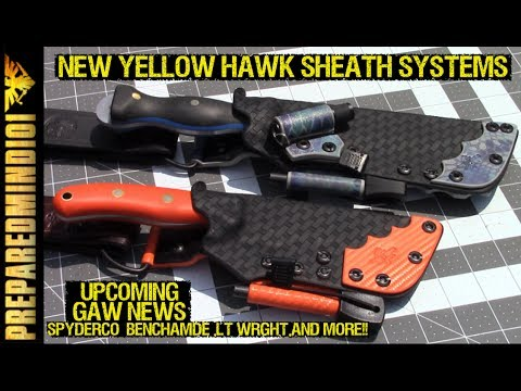 New YHCO Sheath Systems / Upcoming GAWs - Preparedmind101