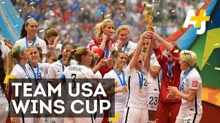Team USA Wins The Women's World Cup