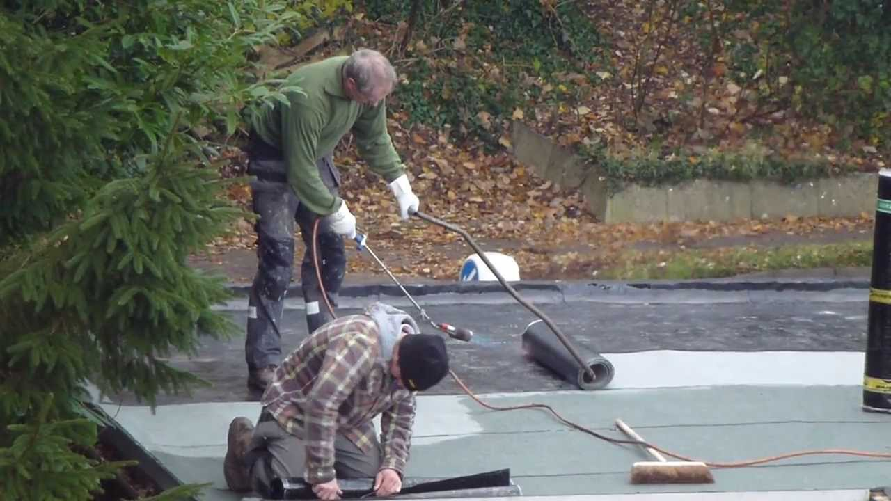 How To Fix A Leaky Roof 3 Alan Steven Laying Tar Paper