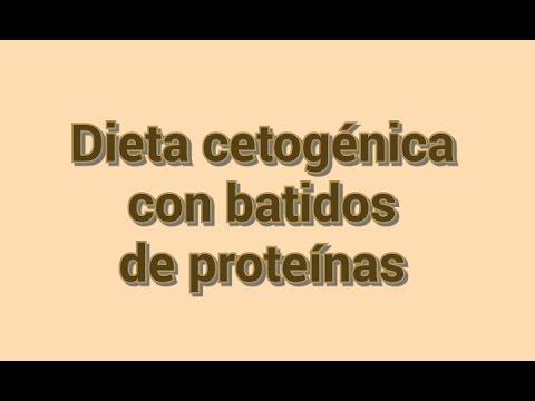 dieta cetosisgenica con batidos de proteina