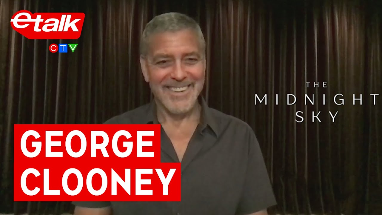 Download George Clooney says Amal wasn't a fan of his beard while filming 'The Midnight Sky' | etalk