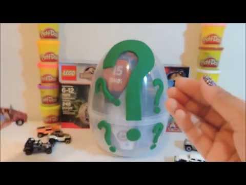 Jurassic World and Super Egg Surprise!