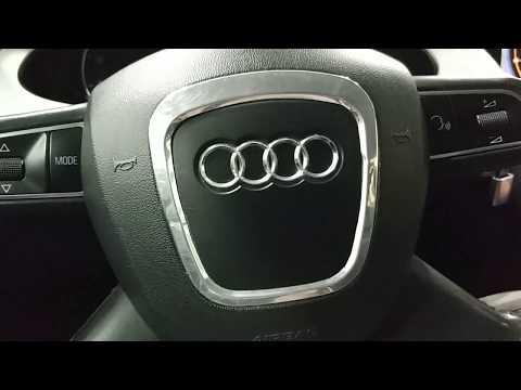Audi A4 B8: бюджетная аудиосистема.