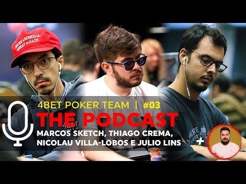 THE PODCAST #03   Marcos Sketch, Thiago Crema, Nicolau Villa-Lobos e Julio Lins