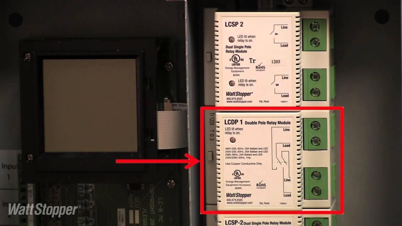 medium resolution of wattstopper introducing the lc8 modular contractor panel