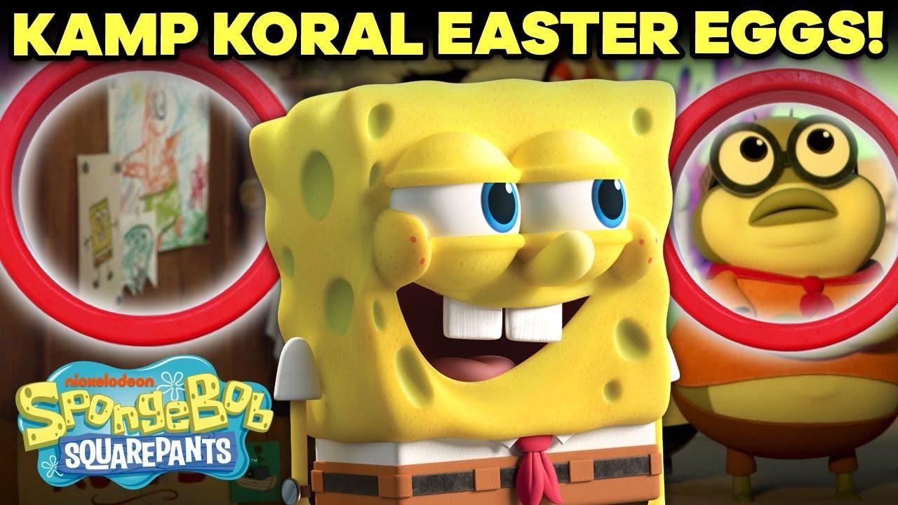 Download Kamp Koral Easter Eggs + Callbacks 🏕 | SpongeBob