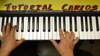 way maker Aqui Estas Piano Tutorial Carlos