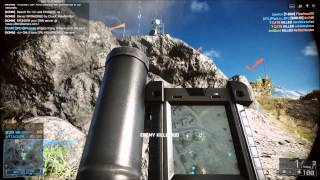 Battlefield 4 M224 Mortar Gameplay: Mortars 2 Stronk