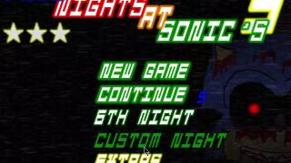 Five Nights at Sonic's 3 ( phantom trouble: very easy, easy, normal and hard)