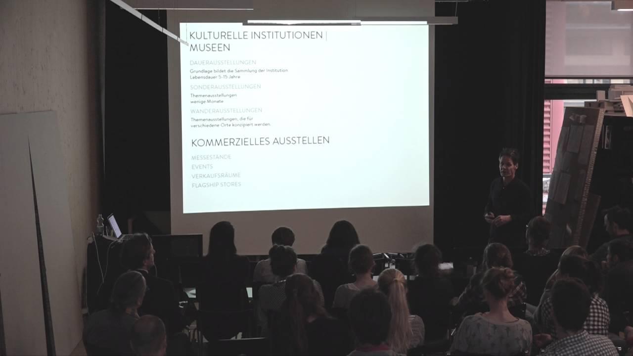Martin birrer innenarchitekt szenograf ffentlicher for Innenarchitektur vortrag