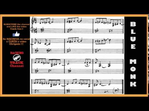 BLUE MONK Backing Track Thelonius Monk Bb7