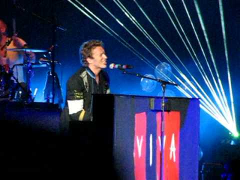 Coldplay - Glass Of Water (Live @ Nissan Pavilion)
