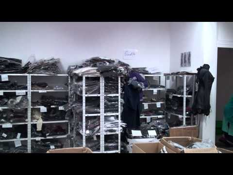 видео: Работа .оптовый склад французской одежды