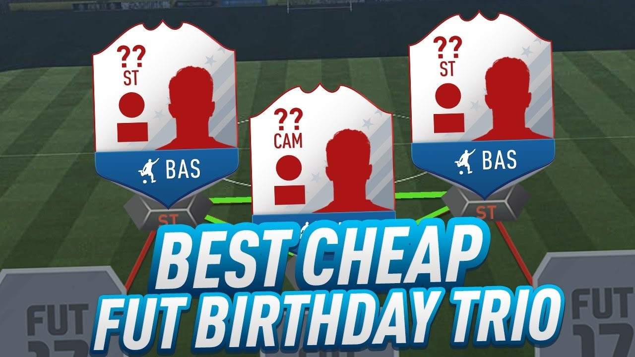 fifa 17 best cheap fut birthday cards incredible deadly striker trio in ultimate team - Cheap Birthday Cards