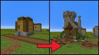 minecraft village transformation tutorial