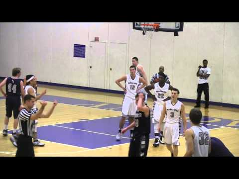 Eric Alperin Phillips Academy pg Goes OFF against Worcester Academy!!! Scores 10 points in 2 min!!!