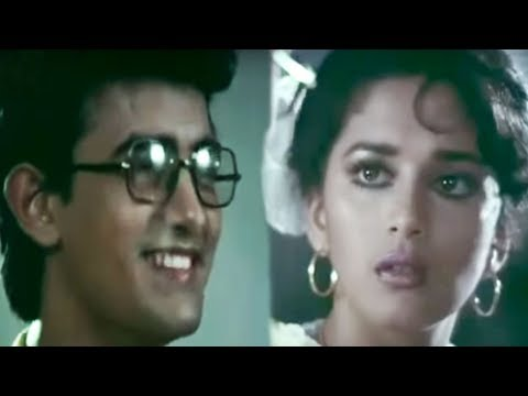 Aamir Khan Wants To Marry Madhuri Dixit | Deewana Mujhsa Nahin | Bollywood Scene